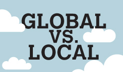 global vs local As the search engines rapidly move to offer more locally focused search results,  those managing large global, single domain sites are facing.