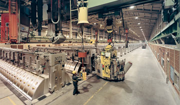 The Alma plant hosts one of the aluminum giant's most-important smelters in North America.