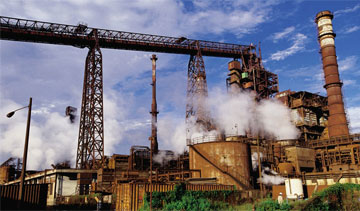 ArcelorMittal's integrated complex in the port of Lázaro Cárdenas (flat and long products). PHOTO: ArcelorMittal