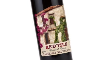 Red Tile Central Coast label 1