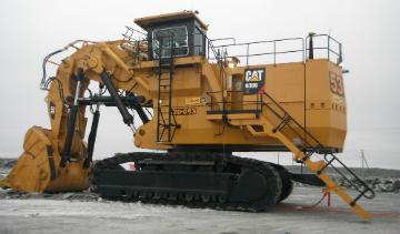 Caterpillar 6060 FS Hydraulic Mining Shovel.