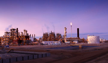 Nexen's Long Lake integrated oil sands facility has had trouble reaching its designed capacity. PHOTO: NEXEN Inc.