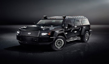 The first EVADE is set to roll off the assembly line in the fall of 2012. PHOTO Conquest Vehicles