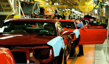 GM is moving assembly of the Camaro to its Lansing Plant instead of Oshawa (pictured). PHOTO: General Motors