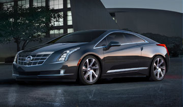 Cadillac's new 2014 ELR extended-range electric vehicle boasts a battery and generator capable of approximately 480 kilometres of driving range. PHOTO GM Canada