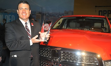 Ram Pickup Named 2013 North American Truck/Utility Of The Year