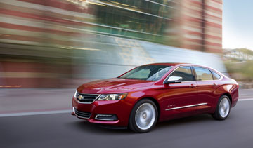 The Oshawa, Ont.-built 2014 Chevrolet Impala will have a starting price of $28,455. PHOTO GM Canada