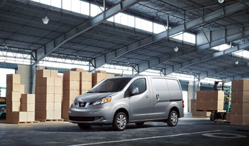 Nissan's all-new 2013 NV200 compact cargo van offers class-leading fuel economy and pricing. PHOTO Nissan Canada