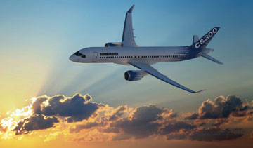 Bombardier's new CSeries aircraft is entering the final phases of approval before its official unveil. PHOTO Bombardier Aerospace