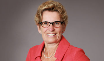 Ontario Premier Kathleen Wynne. PHOTO Ontario Liberal Party