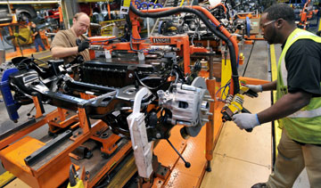 Ford plans to hire 3,000 salaried employees this year, 2,400 of whom will be technical staff working in product development, manufacturing, quality, purchasing and information technology. PHOTO Ford