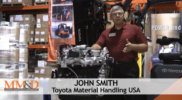 [Video] Toyota Series 8 lift truck introduction - Inside Logistics