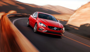 Volvo says its 2014 S60 sedan will be available with all-new Drive-E technology, delivering big displacement power from small displacement engines. PHOTO Volvo