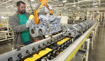 Chrysler is investing $52-million at two Michigan plants to build more four-cylinder engines in anticipation of increased demand, including one in Trenton, Mich. PHOTO Chrysler