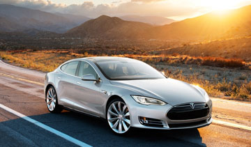The Model S is Tesla's only current production vehicle. PHOTO: Tesla Motors