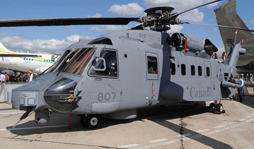 in 2013, Senior National Defence and Public Works officials have informally asked rival aircraft makers if they can step in to pick up the pieces if the troubled CH-148 Cyclone helicopter program is cancelled. PHOTO Gerry Metzler