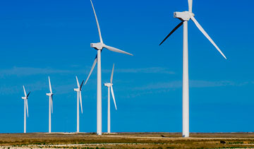 Siemens Canada will build 67 wind turbines for a 150-megawatt installation in southwestern Ontario. PHOTO Pattern Energy