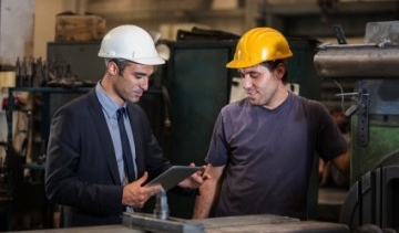 Manufacturers are using mobile technology to manage their workforces right on the shop floor, leading to more responsive production and cost efficiencies
