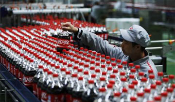 China's fast-growing beverage market, Hebei has generated more than 2.4 billion servings annually since 2008. PHOTO: Coca-Cola Co.
