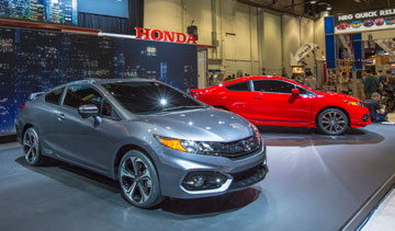 The Honda Civic boasts  aggressive looks and more power. PHOTO: Honda