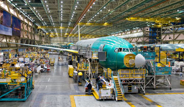 A spokesperson for Boeing Co. said the company has no plans to reopen talks with the union that shot down a contract proposal for work in Washington and will now look outside the state for future work on the 777X model. PHOTO Boeing