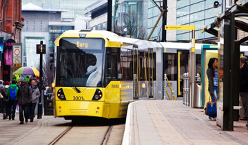 A consortium led by Bombardier Transportation has signed options to build 10 additional light rail vehicles for Manchester's transit system for $31.4-million. PHOTO Bombardier