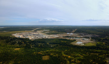 Cenovus Energy's Christina Lake oil sands operation in northern Alberta. PHOTO Cenovus