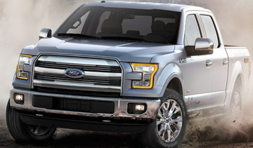 Ford is anticipating 13 weeks of down time at its two pickup truck plants in the U.S. to prepare for the launch of a new aluminum-clad F-150. PHOTO Ford