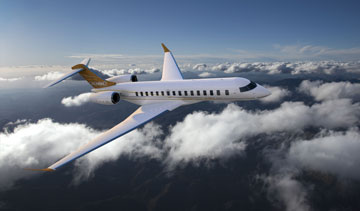 Comtek Advanced Structures Ltd. will design and build the flooring for Bombardier's Global 7000 and 8000 business jets. PHOTO Bombardier