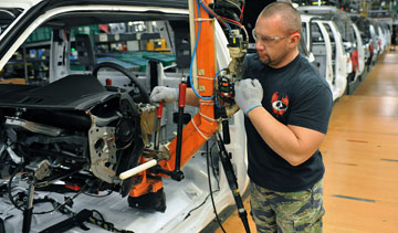 Ford is investing US$80-million in its Kentucky truck assembly plant. PHOTO Ford
