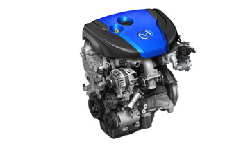 Toyota has expressed interest in Mazda's fuel-efficient SKYACTIV engines. PHOTO: Mazda. PHOTO Mazda