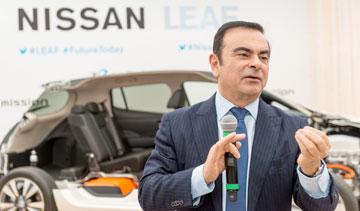 Nissan Motor Co. president Carlos Ghosn. PHOTO Nissan