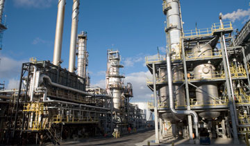 Suncor Energy Inc.'s Montreal oil refinery. PHOTO Suncor