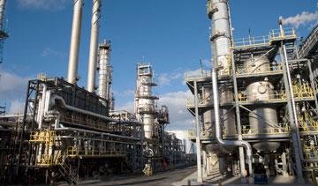 Suncor Energy Inc.'s Montreal oil refinery. PHOTO Suncor