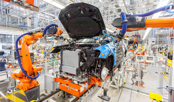 BMW makes its X4 SUV at its plant in Greer, S.C. PHOTO: BMW