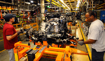 Ford's Oakville, Ont., assembly plant PHOTO Ford