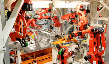 Chrysler's Sterling Heights Assembly Plant in Michigan. PHOTO Chrysler