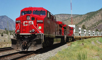 CP wants Transport Canada to mandate inward-facing cameras in locomotives. PHOTO CP