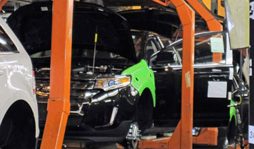 Ford's assembly plant in Oakville, Ont. PHOTO Ford