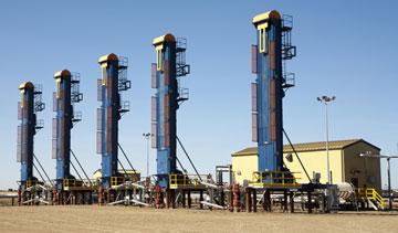 Husky Energy's Pikes Peak South heavy oil site in Saskatchewan. PHOTO Husky Energy