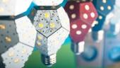 The Nanoleaf LED light bulb lasts for 20 years. PHOTO: Nanoleaf
