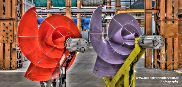 """The Liam F1 urban wind turbine uses a nautilus shell shape to remain """"virtually soundless."""" PHOTO The Archimedes"""
