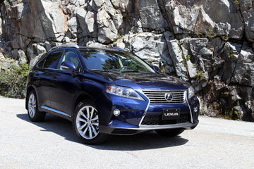 The 2015 Lexus RX350 Is Made In Cambridge, Ont. PHOTO: Toyota