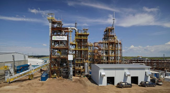 Enerkem's waste-to-biofuels plant in Edmonton. PHOTO Enerkem