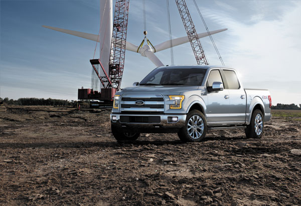 The 2015 Ford F150. PHOTO Ford
