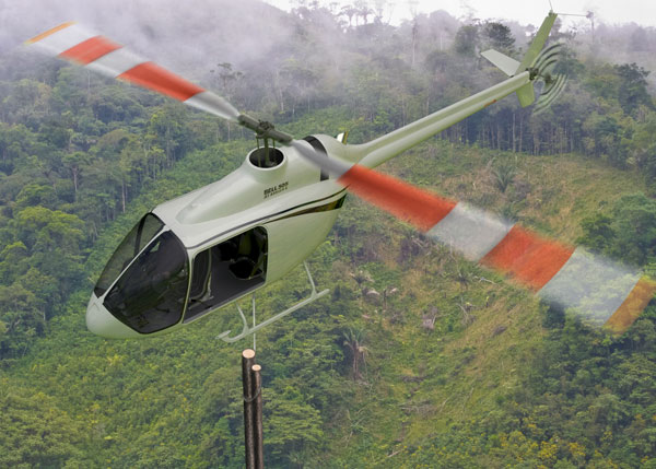 The new 505 Jet Ranger X by Bell Helicopter. PHOTO Bell Helicopter