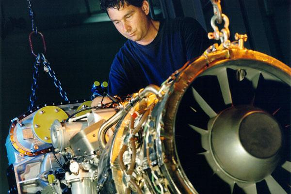 Pratt & Whitney Canada's PW150 series turboprop engine. PHOTO Pratt & Whitney Canada