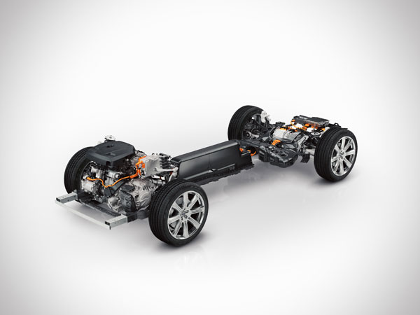Volvo's new XC90 SUV will feature an optional twin engine plug-in hybrid powertrain. PHOTO Volvo