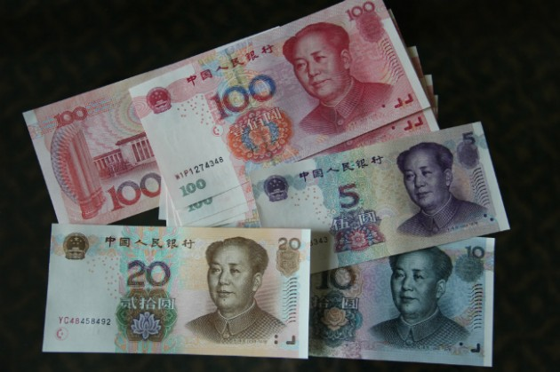 Renminbi. PHOTO Wikimedia Commons, MiLu24.