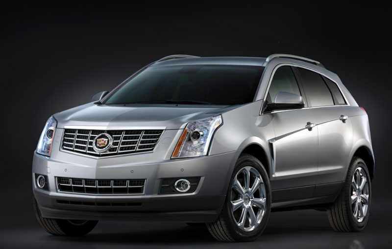 General Motors will likely likely redesign its SRX luxury Crossover Utility Vehicle for the 2016 model year
